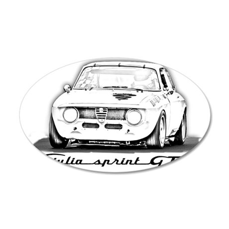Alfa Romeo Giulia Sprint GTA Wall Decal by Admin_CP55078279