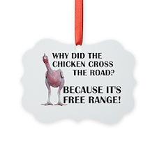 Free Range Chicken Ornament