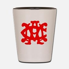 1902 NC State football Shot Glass