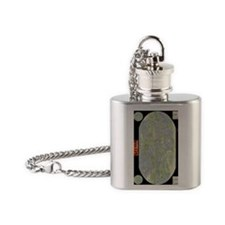 TrystellMap Flask Necklace
