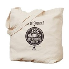 Cafes Maurice French Coffee Tote Bag