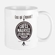 Cafes Maurice French Coffee Mugs
