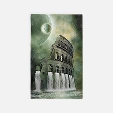 The flood of Rome 3'x5' Area Rug