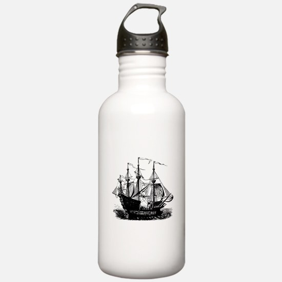 Pirate Ship Sports Water Bottle