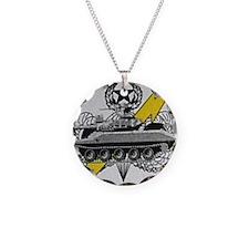 thunderbolttank Necklace Circle Charm