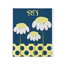RN Daisy 4 4 Throw Blanket