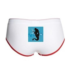 Tiny Mermaid Women's Boy Brief