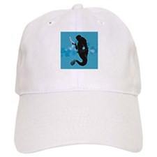 Tiny Mermaid Baseball Cap