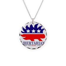 Libertarian Porcupine Necklace