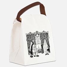 French Fashion Canvas Lunch Bag