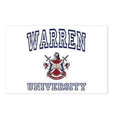 WARREN University Postcards (Package of 8)