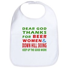 Beer Women and Down Hill Sking Bib