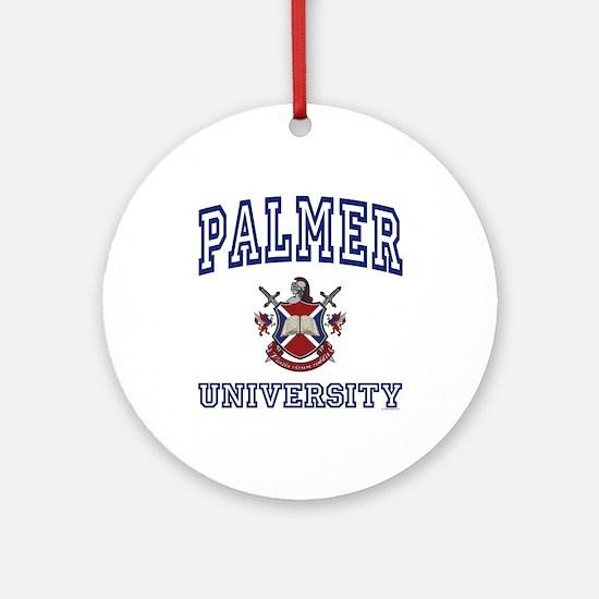 PALMER University Ornament (Round)
