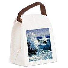 The Sea View of Cliffs-Guy Rose p Canvas Lunch Bag