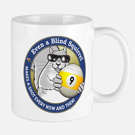 9-Ball Blind Squirrel Mug