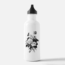 Vintage Roses Water Bottle