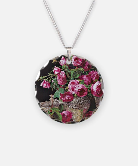 Roses, artwork by Ferdinand  Necklace