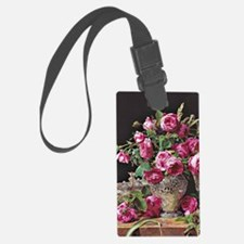 Roses, artwork by Ferdinand Geor Luggage Tag