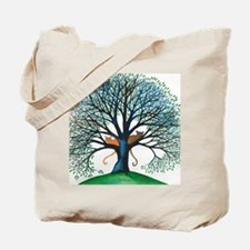 Corozal Stray Cats in Tree by Lori Alexan Tote Bag