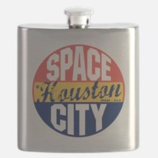 Houston Vintage Label B Flask