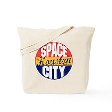 Houston Vintage Label B Tote Bag