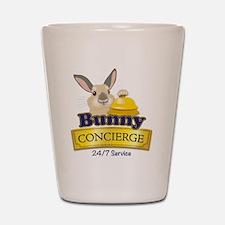 Bunny Concierge Shot Glass