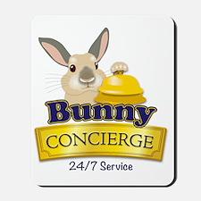 Bunny Concierge Mousepad
