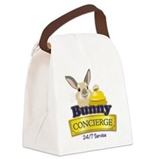Bunny Concierge Canvas Lunch Bag