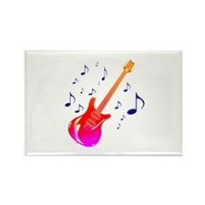 gradient guitar blue notes behind Magnets