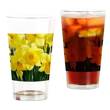 Trumpet Daffodil Drinking Glass