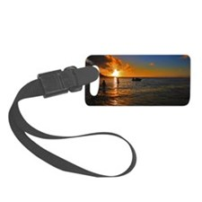 Kauai Sunset Luggage Tag