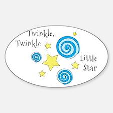 Twinke, Twinkle Little Star Decal