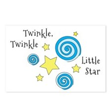 Twinke, Twinkle Little Star Postcards (Package of