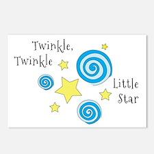 Twinke, Twinkle Little Star Postcards (Package of