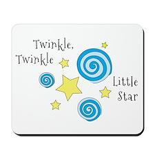 Twinke, Twinkle Little Star Mousepad
