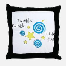 Twinke, Twinkle Little Star Throw Pillow