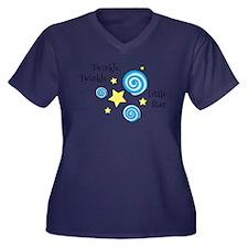 Twinke, Twinkle Little Star Plus Size T-Shirt