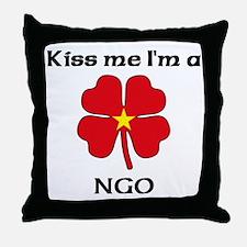 Ngo Family Throw Pillow