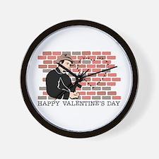 Heart Gangster Wall Clock