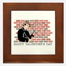 Heart Gangster Framed Tile
