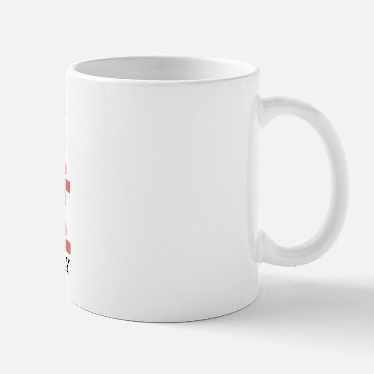 Heart Gangster Right-handed Mug