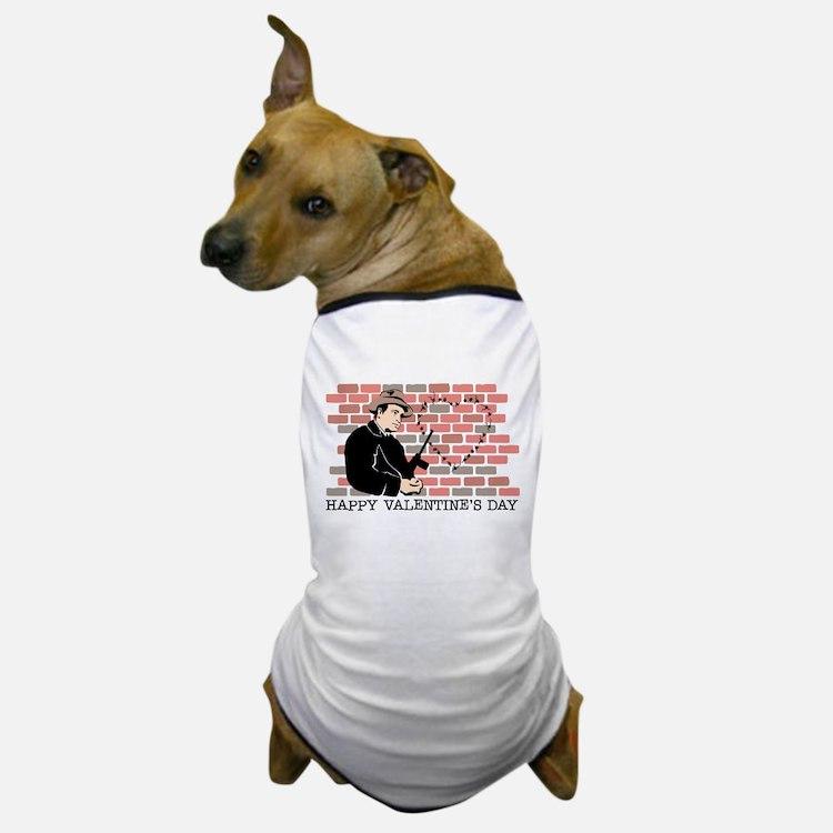 Heart Gangster Dog T-Shirt
