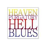 Heaven purgatory hell blues Square