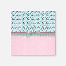 """County Butterflies Square Sticker 3"""" x 3"""""""
