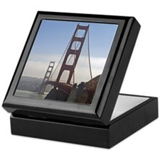 GoldenGateBridge002 Keepsake Box