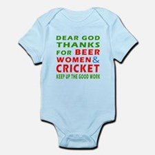 Beer Women and Cricket Onesie