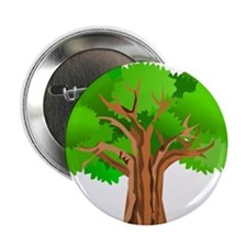 """Tree 2.25"""" Button (10 pack)"""