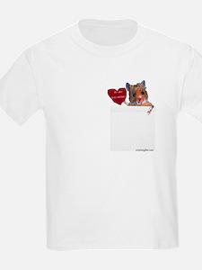 Hamster Valentine Kids T-Shirt