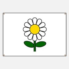 Daisy Flower Banner