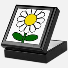 Daisy Flower Keepsake Box